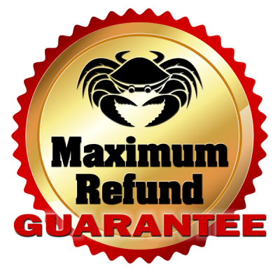 Crabb Tax Service's Maximum Refund Guarantee