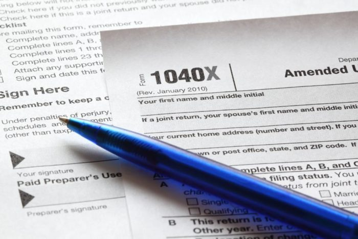 Tax Tip: File Form 1040X to Amend a Tax Return | Crabb Tax Services