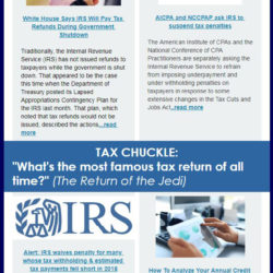Crabb Tax Services Newsletter (January 2019)